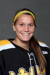 Amanda Cartony scored her third goal of the season on Saturday afternoon.
