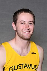 Cameron Clause led the Gustavus men with wins in the pole vault and long jump.
