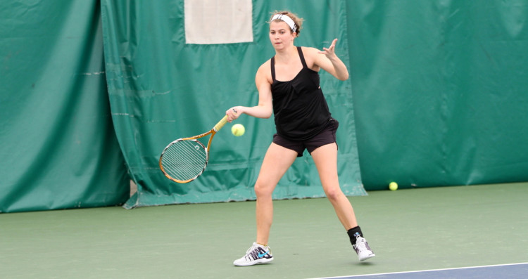 Laurel Krebsbach was named the MIAC Women's Tennis Athlete of the Week for the first time this season.