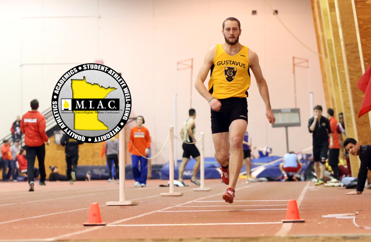 Cameron Clause was named the MIAC's Most Outstanding Field Athlete.