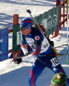 This was the last year Gustafson qualified for junior status (IBU).