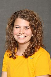 Laurel Krebsbach picked up the lone singles win for the Gusties on Saturday.