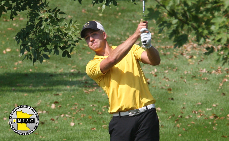 Tyler McMorrow named MIAC Men's Golf Athlete-of-the-Week. Photo courtesy of Sport PiX.