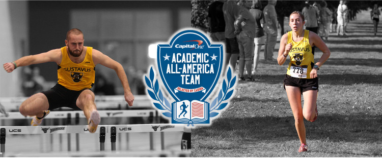 Cameron Clause and Rebecca Hare take home Academic All-District honors for the first time in their careers.