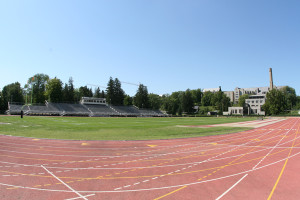 Manitou Track on the campus of St. Olaf College.