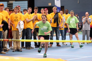 Special Olympics is one of the many organizations Gustavus student-athletes volunteer with throughout the course of the year.