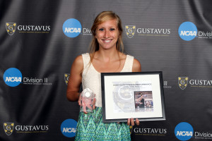 Alissa Tinklenberg was named the Senior Female Athlete Of The Year.