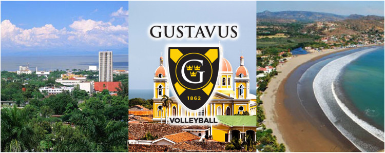 The Gustavus volleyball team will stay in the cities of Managua, San Juan del Sur, and Granada during its trip to Nicaragua.