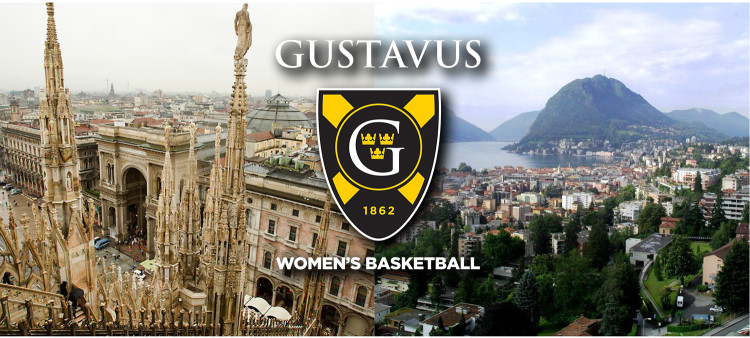 Milan, Italy and Lugano, Switzerland and two of the cities the Gustavus women's basketball team will see on its trip overseas.