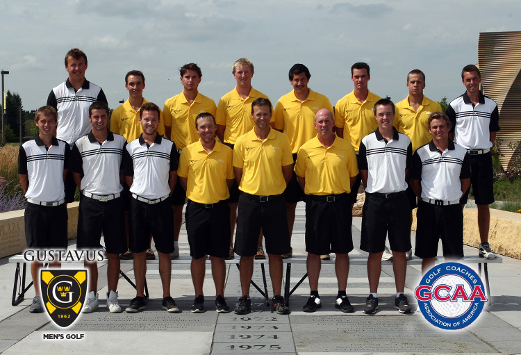 The Gustavus men's golf team earned GCAA All-Academic Team honors.