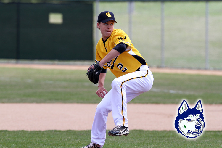 Gustavus pitcher Chris Kelly has signed with the Duluth Huskies of the Northwoods League. Photo courtesy of Sport PiX.