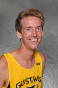 Paul Nordquist helped the men's cross country team post a third place finish at the Central Dutch Invitational on Saturday.