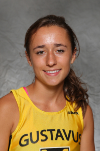Marit Sonnesyn led the Gusties with a 21st place finish at the St. Olaf Invite held Saturday in Northfield.