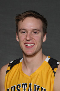 Brody Ziegler (Jr., Mankato, Minn.) led the way for Gustavus by going 9-of-14 from the floor to score 20 points. He also pulled down eight rebounds and dished out four assists.
