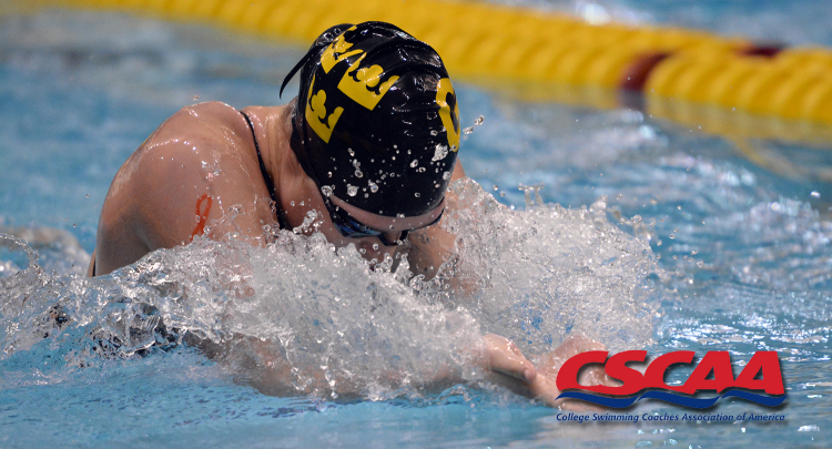 The gustavus women s swimming and ing team is ranked no 9 in the
