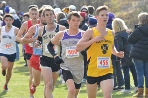 Thomas Knobbe set a new personal best in the biggest meet of his career by finishing the 8k course in 25:34.3, good for 136th place and an average time of 5:08 per mile.