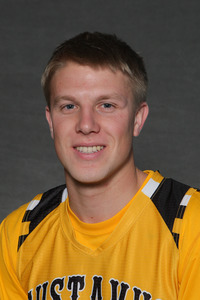 Chad Poppen paced the Gusties in their 66-58 victory over Simpson College. Poppen scored 13 points and tallied seven rebounds.