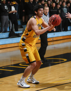 Sergio Najera scored 13 points and pulled down a team-high seven boards for the Gusties.