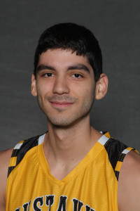 Sergio Najera scored 10 points and was one of four Gusties who scored in double digits in a 63-51 win over Hamline on Saturday.
