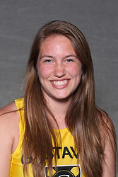 Sarah Swanson posted a win in the shot put to kick off the season on Friday at the St. Olaf Invite.