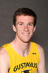 Kyle Fredrickson crossed the finish line in 1:23.18 in the 600-meter dash to take first place at the St. Olaf Invite on Friday in Northfield.