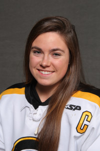 Carolyn Draayer scored a shorthanded goal to help Gustavus clinch its 10th MIAC Championship in 11 years.
