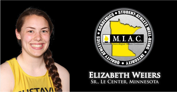 Elizabeth Weiers Nabs Miac Women S Indoor Field Athlete Of