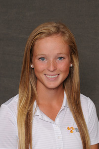 Lauren Johnson co-led Gustavus with an 18-over-par 162 in a two-day dual against Minnesota State.