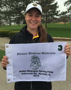 McKenzie Swenson led Gustavus with a score of 151, good for third place overall.