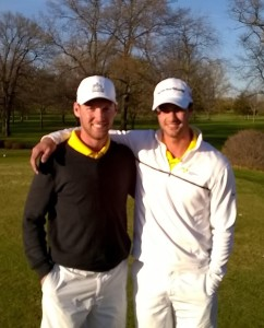 Seniors Ben Elvestrom and Danny Cameron.