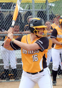 Senior Kailey Morgan finished conference play ranked eight in batting average (.415) and second in doubles (8).