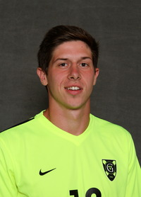 Matt Jacobs scored his first career goal in Tuesday's 2-0 win over Martin Luther.