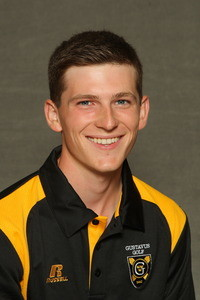 Chris Captain led Gustavus on the weekend with a total score of 152.