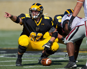Senior All-MIAC center will lead an experienced offensive line.