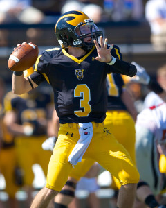 Senior quarterback looks to respond after a record-setting 2014 season.
