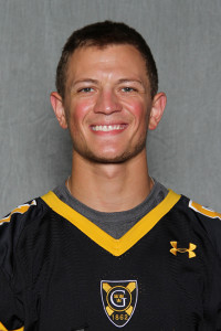Matt Boyce is Gustavus' new all-time leader in receiving touchdowns with 30.