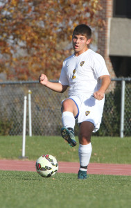 Patrick Roth scored two goals against Bethany.