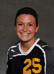 Emily Skogseth led the Gusties with two goals in the win against Bethany Lutheran.
