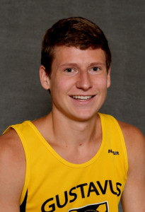 Thomas Knobbe led Gustavus at the NCAA Central Region Meet with a 28th place finish.