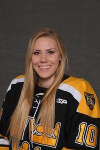 First-year Marina Chapman had a goal and an assist in Saturday's 6-5 loss to Concordia.