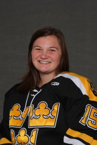 Erin Moes scored the Gusties lone goal in Friday's 1-1 tie with St. Kate's.