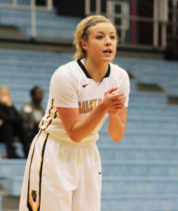 Kelsey Carpenter was one of six Gusties to score from beyond the arc on Wednesday.