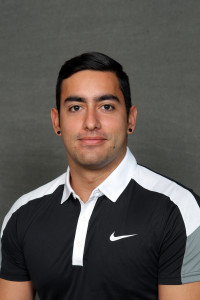Andres Saenz won four matches for Gustavus on Saturday.