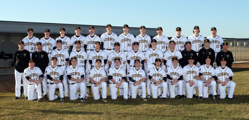 The 2016 Gustavus baseball team.