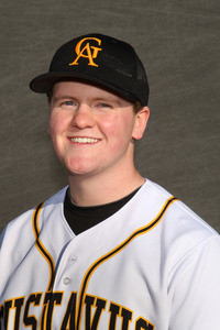 Connor Kern pitched a two-hit shutout, giving the Gusties their first win of the season.