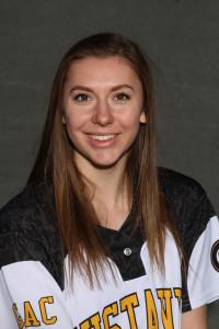 Rachel Strandmark went 3-for-4 in the win over Denison.
