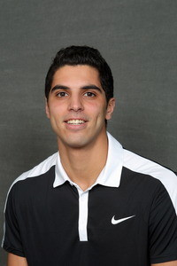 Mohanad Alhouni earned two more victories vs. No. 29 Texas-Tyler on Saturday.