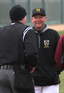 Head Coach Brad Baker directed the Gusties to a winning record in his first season back since 1981.