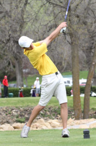 Andrew Krasaway led the Gusties with a one-over 73 in Sunday's dual vs. St. Thomas.