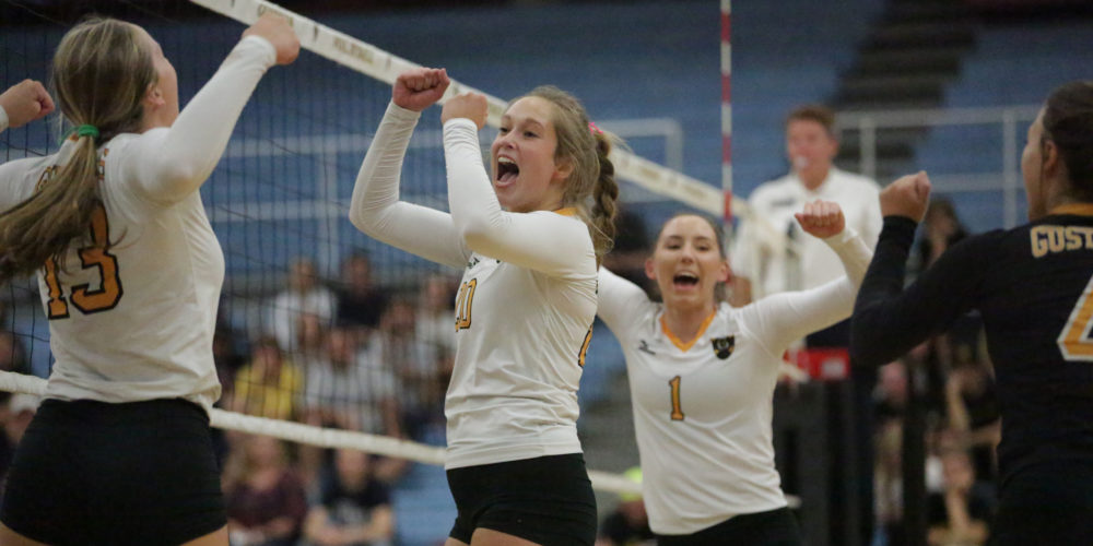 Volleyball Opens MIAC Play With Five-Set Win Over No. 12 ...
